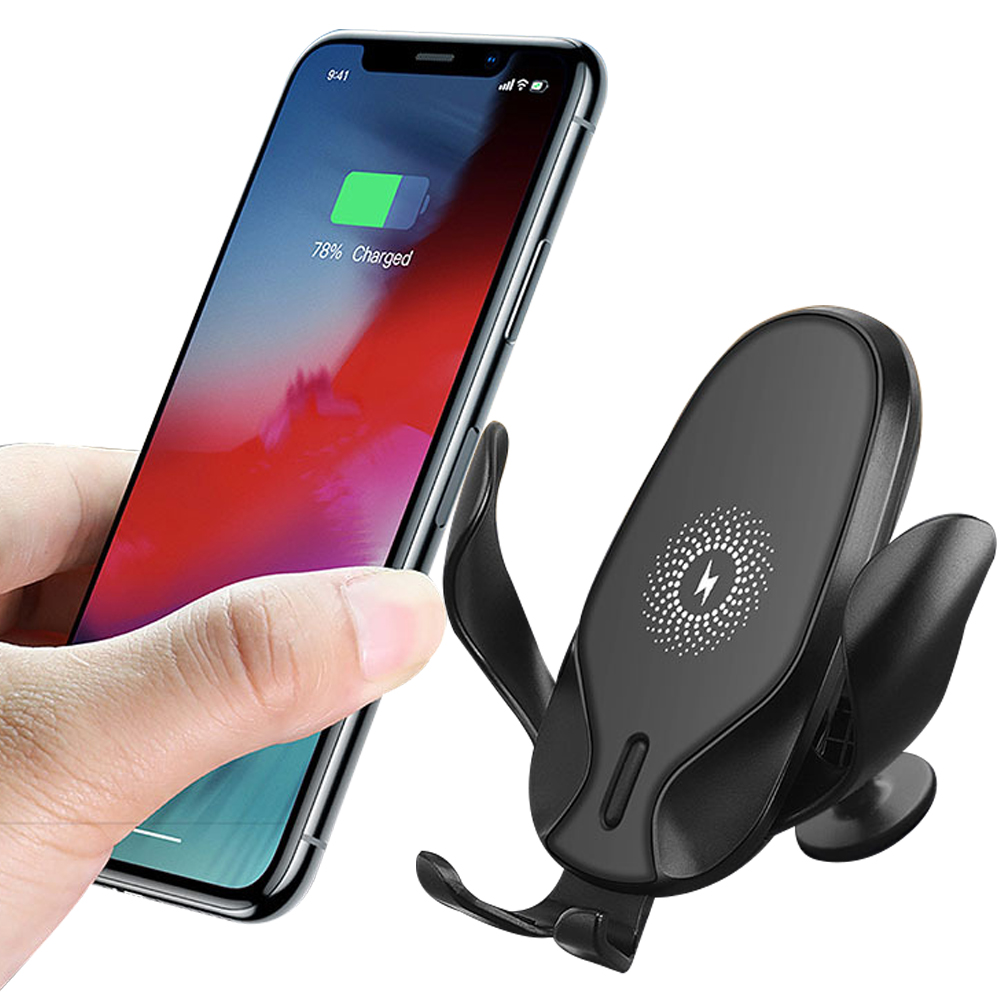 BMP-W1633:Gravity Wireless Car Charger