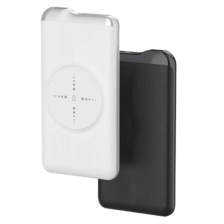 BMP-W1610:Wireless Charger +Power Bank 10000mAh