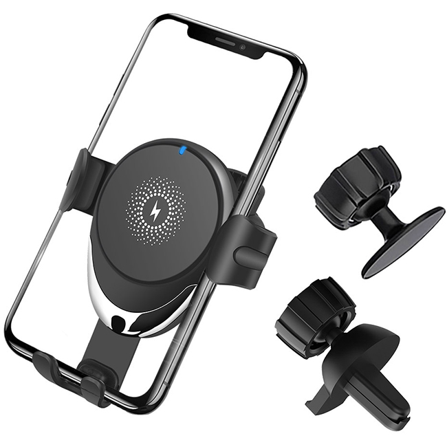 BMP-W1632:Gravity Wireless Car Charger