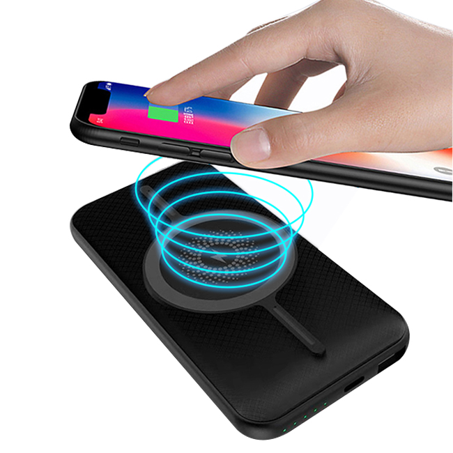 BMP-W1612 :Wireless Charger +Power Bank 10000mAh